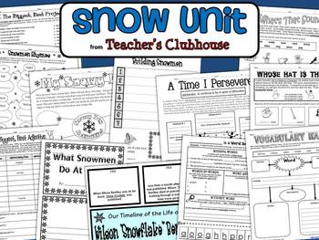 Snow Unit from Teacher's Clubhouse
