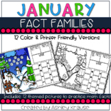Fact Famlies: January Snow Village