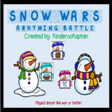 Snow Wars! A rhyming battle
