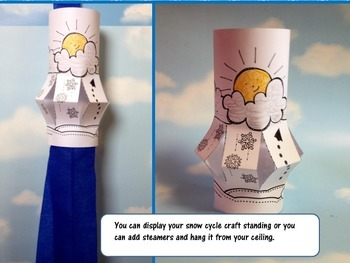 Snow Water Cycle Lantern Craftivity {A Weather Craft for the Snow Cycle}
