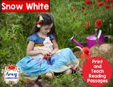 Snow White Reading Passages