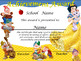 Snow White Achievement Award Spanish & English versionn Ed