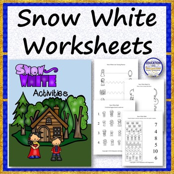 Snow White Worksheets