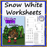 Snow White Worksheets