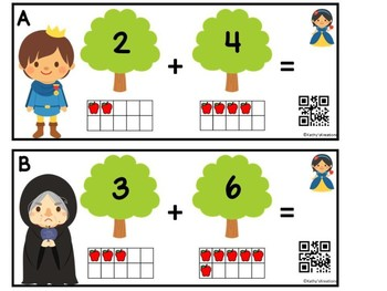 Snow White Add The Room (QR Code Ready)