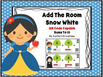 QR Code Snow White Add The Room
