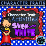 Snow White Character Trait Activities & Word Wall Cards