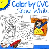 Snow White Color by CVC Word