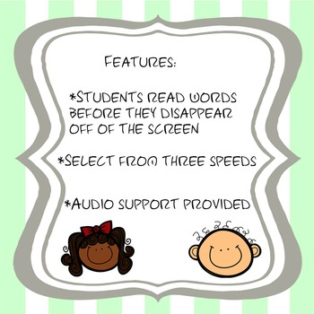 FREE Interactive PowerPoint Fluency Practice for MS Students:Snow White