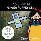 Snow White Fairy Tale Finger Puppet Retelling Set
