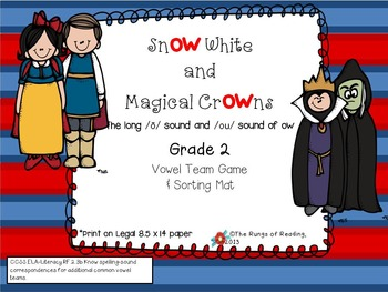 Snow White & Magical Crowns (long /o/ & /ou/ sound of ow )