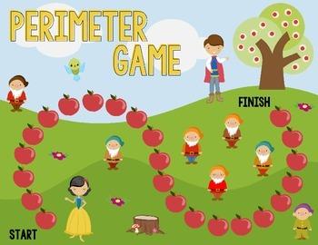 Disney Inspired Snow White Perimeter Board Game