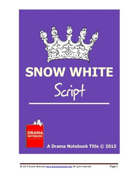 Snow White-Play Script