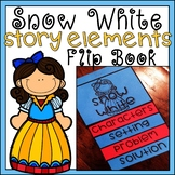 Snow White Story Elements Flip Book Differentiated