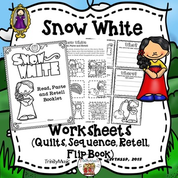 Snow White Worksheets (for ELA)