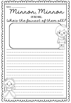 Snow White Writing Unit and Craftivity