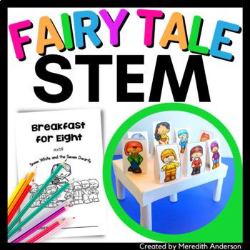 Snow White and the Seven Dwarfs STEM Activity - Breakfast