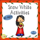 Snow White and the Seven Dwarfs Fairy Tales Worksheets Act