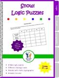 Logic Puzzles Snow Winter Fun