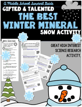 Snow Science - The Best Winter Mineral