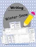 Snow Writing Informative Opinion Narrative CCSS