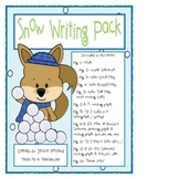 Snow Writing Pack