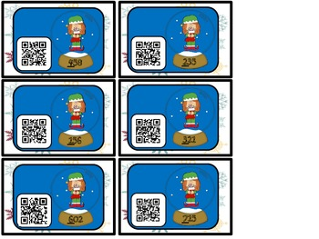 Snow Your Place Value!! (QR Code Fun)