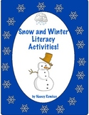 SNOW AND WINTER LITERACY ACTIVITIES-BRRRR!