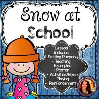 Snow at School