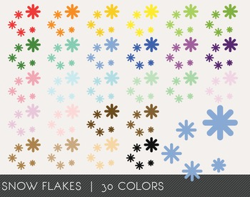 Snow flakes Digital Clipart, Snow flakes Graphics, Snow flakes PNG