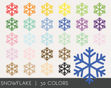 Snow flakes Digital Clipart, Snow flakes Graphics, Snow fl