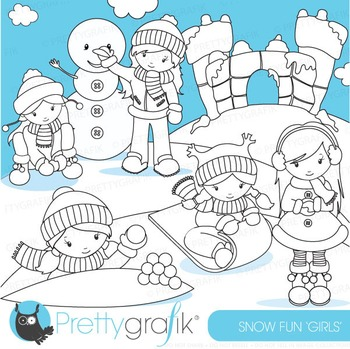Snow fort stamps commercial use, vector graphics, images - DS624