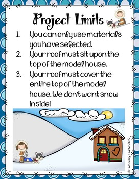 Snow on the Rooftop Project-based STEM Challenge