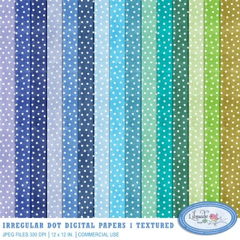 Snow patterns digital papers in assorted colors