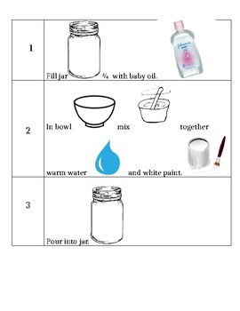 Snow storm in a Jar Science Activity