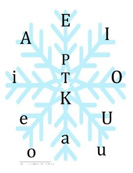 Snow-tastic Syllable Drills