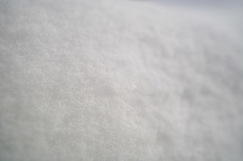 Snow - textured background Stock Photo - close up