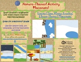 Snow-themed Activity Placemats