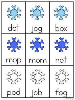 Snowball! {A CVC Word Game for Small Groups}