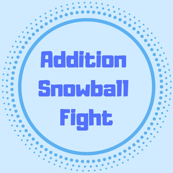 Snowball Addition Game 1-12