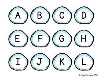 Snowball Alphabet