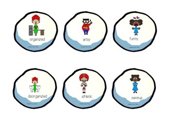 Snowball Antonyms FREEBIE