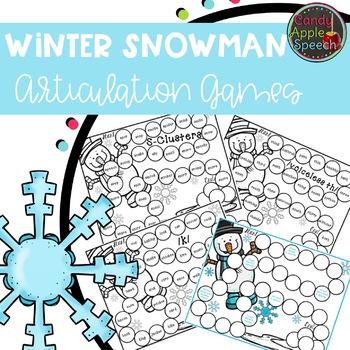 Snowball Articulation Game