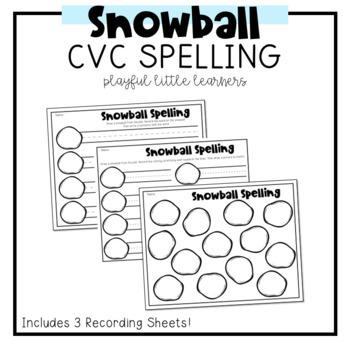 Snowball CVC Words
