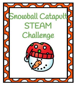 Snowball Catapult STEAM Challenge