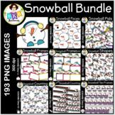 Snowball Clip Art  ● Clip Art ● Bundle
