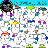Snowball Clipart Buds {Winter Clipart}