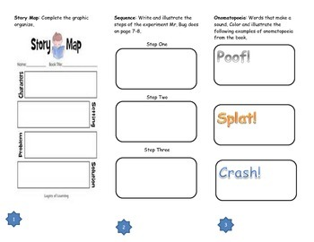 Snowball Comprehension Tri-fold
