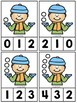 Snowball Counting Clip Cards 1-10
