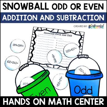 Snowball Even and Odd Center